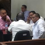 La audiencia es a puerta cerrada por orden del Juez Unico Bacrim con funciones de control de garantías, Ricardo Méndez.