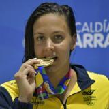 Los colombianos que se subieron al podio