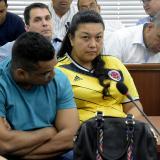 Los dos procesados en las audiencias preliminares.