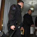 Policía en casa de C.K.
