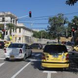 Instalan dos nuevos semáforos en el norte
