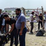 Peregrinos de La Meca celebran la fiesta del sacrificio