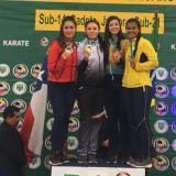 Sharon Torres gana bronce en Panamericano de karate