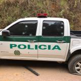 Hostigamiento a patrulla de Policía en Valle del Cauca deja un herido