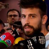 Gerard Piqué fue denunciado por conducir con el permiso suspendido