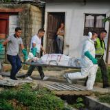En video | Los dos cuerpos estaban en una sola fosa en Villa del Rosario