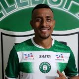 El lateral izquierdo Farid Díaz sonriente con su nuevo equipo, Valledupar FC.