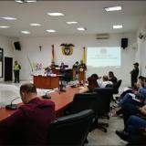 Sesión de la comisión tercera del Concejo.