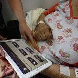 La aplicación fue diseñada para que las personas puedan interactuar de manera sencilla.