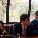 Wadith Manzur en reunión con directivas del Invías.