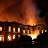 Restauración de museo destruido por incendio en Río llevará 10 años
