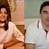Ángela María Orozco y Carlos Rosado.