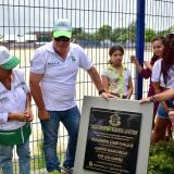 Habitantes de La Victoria estrenan unidad deportiva y recreativa