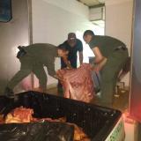 Santa Marta: alerta por  carne de contrabando