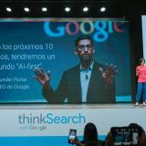 Adriana Noreña, vicepresidenta de Google para Hispanoamérica durante el evento de 'ThinkSearch'.