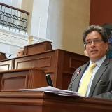 Oposición dice que moción de censura contra ministro Carrasquilla está lista