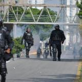 Continúan desvíos por protestas en la Universidad del Atlántico