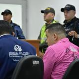 El saludo de Lebith Rúa a la mamá de Gabriela Romero en audiencia de escrito de acusación