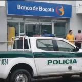 El hurto se registró en una de las sedes del Banco de Bogotá en el municipio de Aguachica, en Cesar.