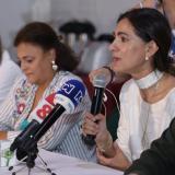 Ángela María Orozco, ministra de Transporte, explica las medidas para la semana de receso.