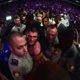 En video   Nurmagomedov vence a McGregor con escándalo final