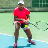 La hija de Roberto Peñaloza sueña con llegar a Wimbledon