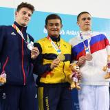 Restrepo se cuelga el oro en los Olímpicos de la Juventud