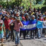 Honduras informó que Venezuela financió caravana de migrantes: Pence