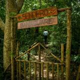 El sendero de Sanaguare es uno de los primeros que se encuentran en el recorrido. Tiene cerca de 300 metros de extensión.