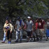 Antonia, la hondureña que camina a EEUU para ayudar a sus 13 hijos