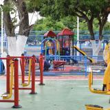 Alcalde de Malambo entrega parque en el barrio Bellavista