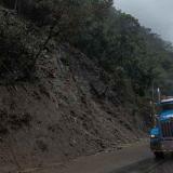 Derrumbe en la vía que va de Bogotá a Villavicencio.