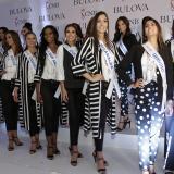 Este viernes se reunieron las candidatas para el lanzamiento de Miss Puntualidad.