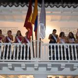 Las candidatas cierran su primer día en Cartagena visitando la casa del CNB