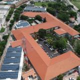 El sistema de autogeneración solar fotovoltaico de la empresa Promigas.