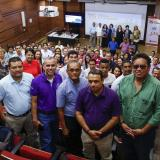 Grupo de docentes que participan del programa.