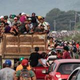 En video | Más de 1.500 migrantes de caravana en frontera México-EEUU