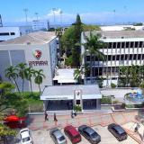 Panorámica aérea de la Universidad de la Costa.