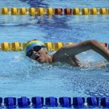 El sueño valiente de Sebastián, un nadador optimista