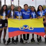 Chicas del club Mario Durán de patinaje se lucieron en México