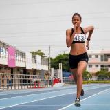 Jhovana Camargo, plata en 400 metros planos