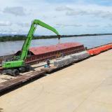 Tren dinamiza el transporte multimodal de carga a B/quilla