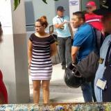 Tivisay Lobo Fuentes, capturada el viernes anterior.