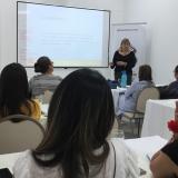 Aspecto del seminario-taller, el cual contó con el apoyo de la Alcaldía Distrital.