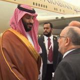 Príncipe heredero Bin Salman, el primero del G20 en llegar a Argentina