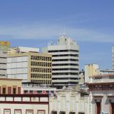 Panorámica del Centro de Barranquilla en la que sobresalen sus edificios.