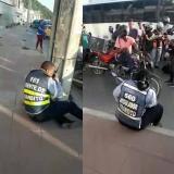 Capturan a agentes de tránsito en aparente estado de alicoramiento tras arrollar a mujer