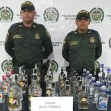 Policía del Atlántico ha incautado 400 litros de licor adulterado