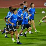 Real Madrid entrena en Abu Dabi con preocupación por los lesionados