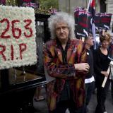 Brian May, guitarrista de Queen.